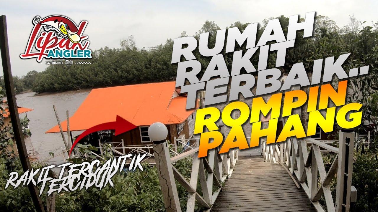 Trip Relax Rumah Rakit Pak Seman Rompin Pahang! | VLOG 3 - Kaki Pancing Malaysia