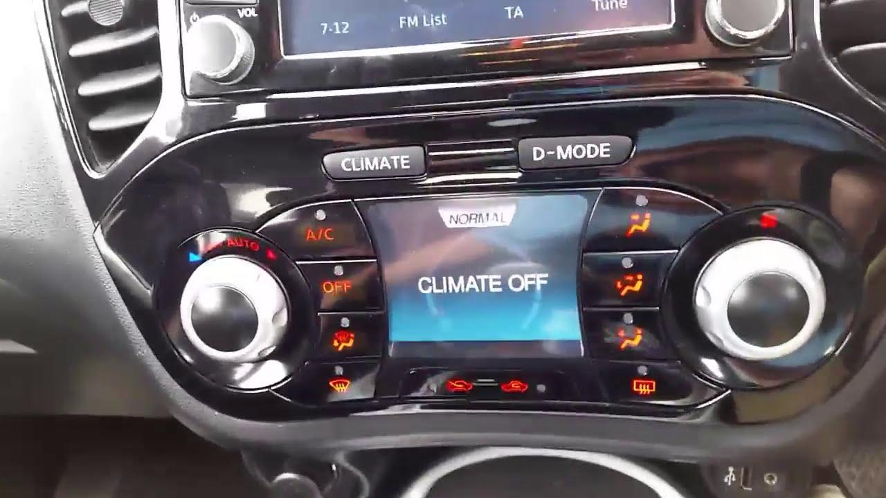 Nissan Juke Radio Removal