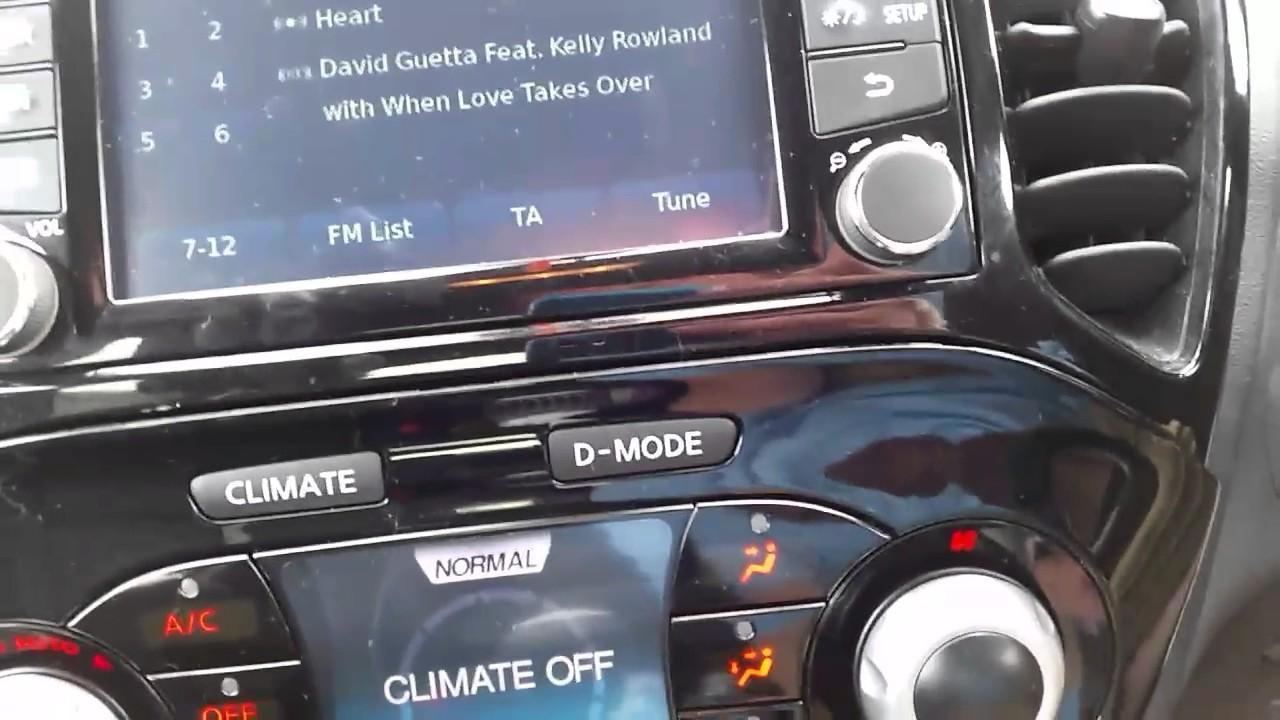 Nissan Juke Radio Removal Model