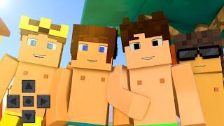 O COMEÇO DA AVENTURA !! - Minecraft de Férias #01 (Minecraft PE)