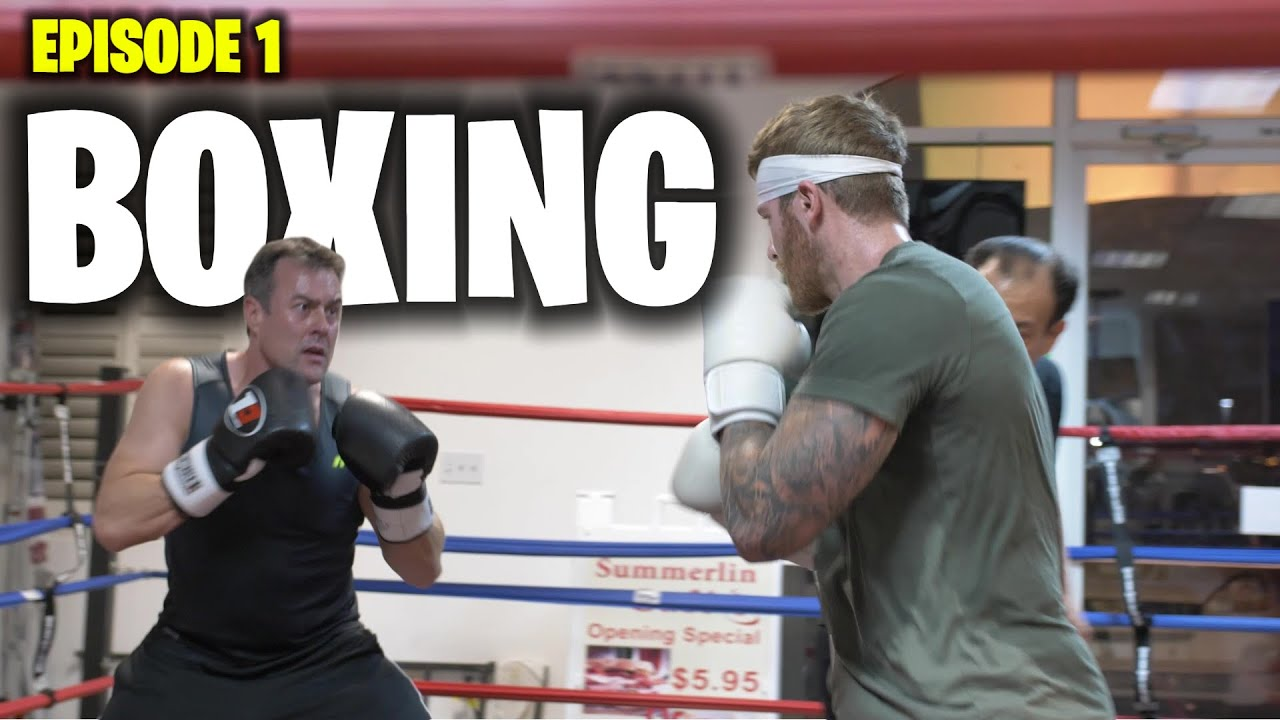 Boxing Training For First Match   Technique - Episode 1