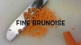 Vegetable Cutting  : Fine Brunoise