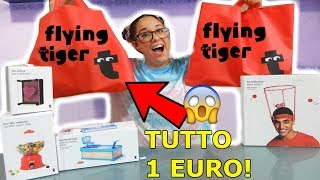 COSE COMPRATE DA TIGER AD 1 EURO! *MEGA HAUL BACK TO SCHOOL tiger E ANTISTRESS STRANI*