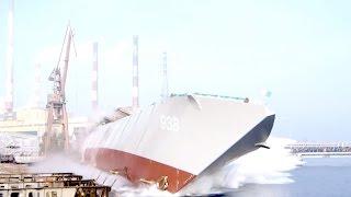Tysięczne wodowanie w stoczni Remontowa Shipbuilding