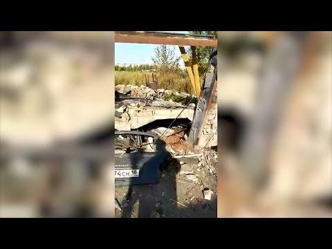 В Набережных Челнах взрыв ГБО уничтожил гараж