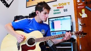 They Don't Really Care About Us - Acoustic Guitar Cover - Michael Jackson