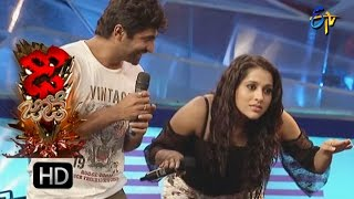 Funny Task | Dhee Jodi | 26th october2016| ETV Telugu