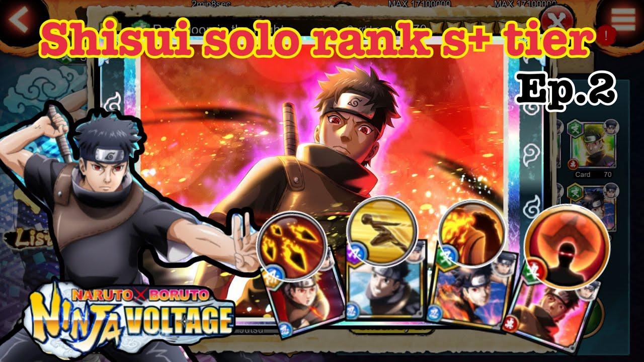 Download Naruto x boruto ninja voltage solo shisui s+ tier