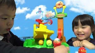 アンパンマン それいけ! コロロンパーク のぼってジャンプだ! アスレチック おもちゃ anpanman toy thumbnail