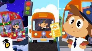 Le meilleur de Pif en Bus | Enfants l'Apprentissage de bande dessinée | Dr Panda TotoTime Saison 1 & 2