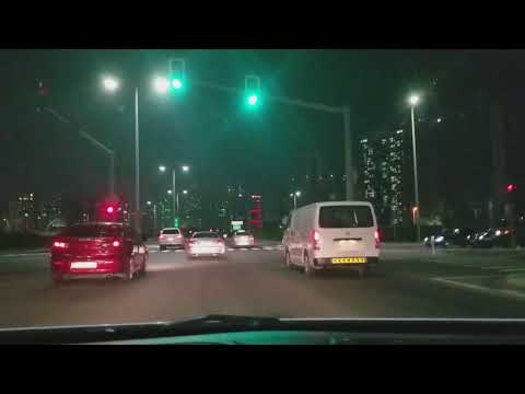 Abu dhabi night drive