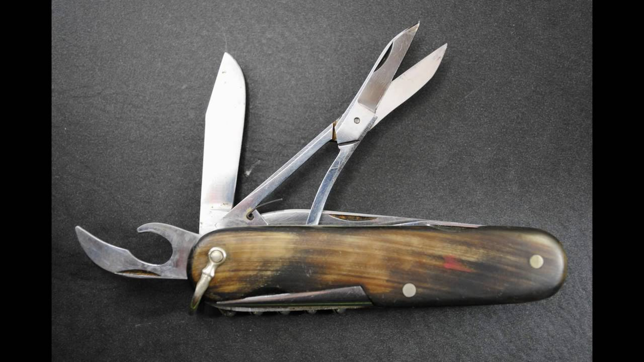 1940s Victorinox Quot Climber Quot With Horn Scales Youtube