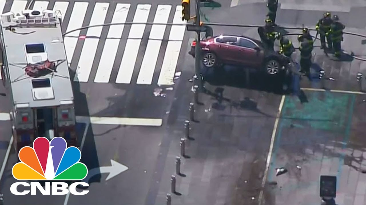 Times Square Car Accident    Youtube