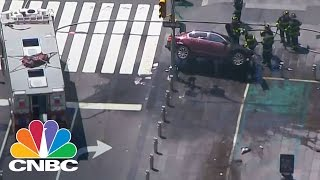 One Dead In Times Square Car Accident Incident | CNBC