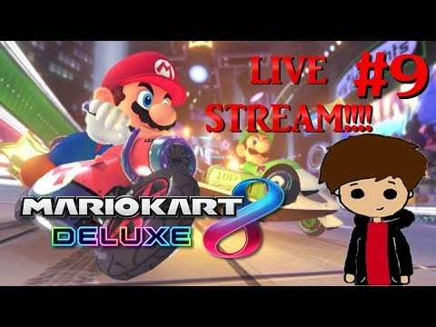 Mario Kart 8 DELUXE! With Viewers! Stream #9