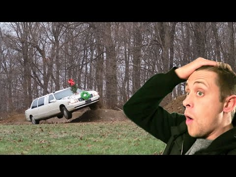 INSANE LIMO STUNTS WITH ROMAN ATWOOD (almost died)