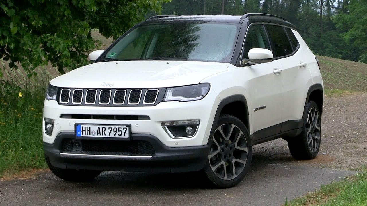Jeep Renegade Limited >> 2018 Jeep Compass 1.4 MultiAir Limited (170 HP) TEST DRIVE - YouTube