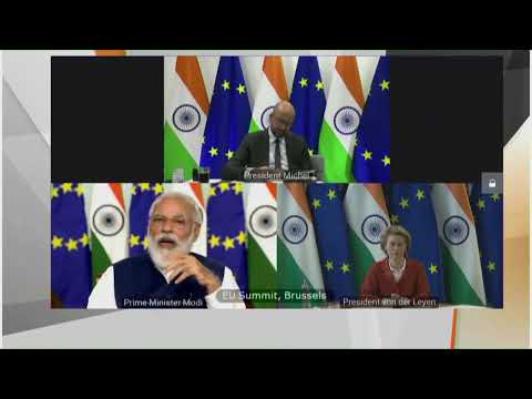 PM Modi attends India-EU Virtual Summit 2020 | PMO