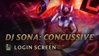 DJ Sona Concussive   Login Screen - League of Legends