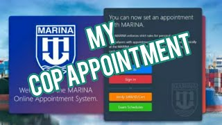 MARINA | REGION 8 | COP APPOINTMENT