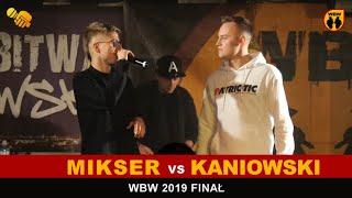 Mikser  Kaniowski  WBW 2019 Finał (wywiad)
