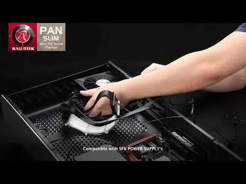 THE PAN SLIM SERIES, HIGH END MINI ITX DESKTOP CHASSIS