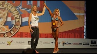 Награждение победителей АКЕ 2014 фитнес до 163см
