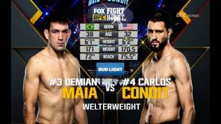How Demian Maia Finished Carlos Condit
