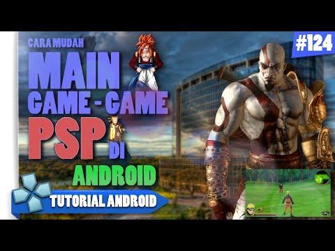 Cara Memainkan Ratusan Game PSP Di Android | Sangat Mudah.