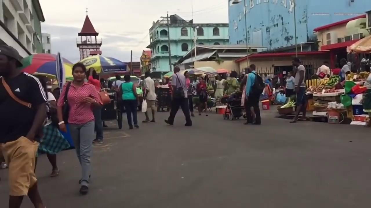 Stabroek Market and Georgetown Guyana