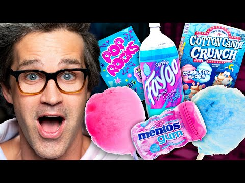 What's The Best Cotton Candy Snack? Taste Test