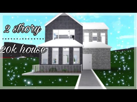Bloxburg 20k House 2 Story Youtube