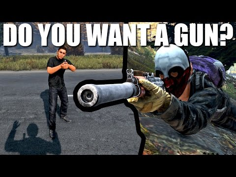 DAYZ HAS BECOME FRIENDLIER - The Jammed Gun Experiment vol 2