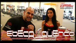 Rebeca Oquendo - Muscular Development Español en Miami. Julio 2013