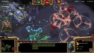 StarCraft 2 Co-Op Miner Evacuation Mengsk the ARTILLERY!