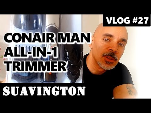 Conair Man All-In-1 Trimmer - Vlog #27