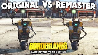 Borderlands Remastered vs Original Comparison