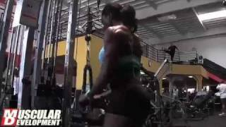 MuscularDevelopment.com Follows Roxie Beckles 6 Weeks Out from 2011 Team U