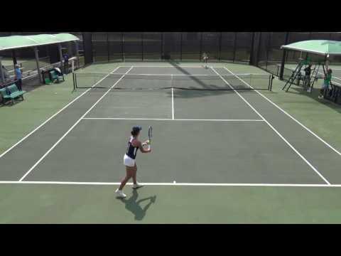 College Tennis 2017: Melounova (Hawaii) vs. Garcia (San Diego)  FULL MATCH
