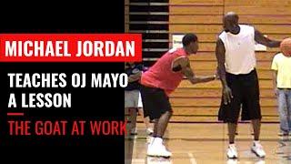 Repeat youtube video Michael Jordan vs. OJ Mayo - larrybrownsports.com