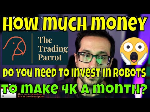 How Much Money Do You Need To Invest In Robots To Make 4K A Month? - 3Commas + Binance