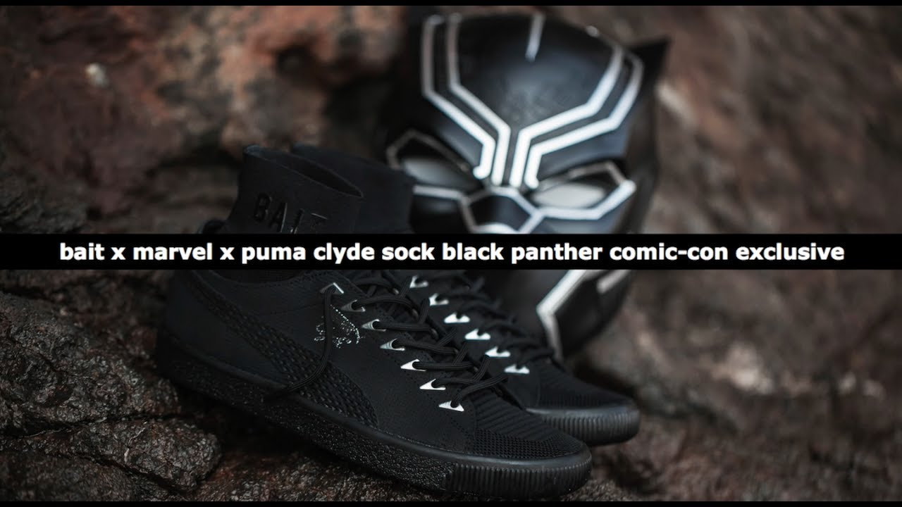 BAIT, Marvel, and PUMA Are Dropping A Limited Black Panther Sneaker For  Comic-Con