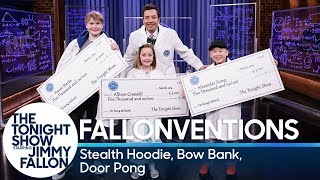 Fallonventions: Stealth Hoodie, Bow Bank, Door Pong