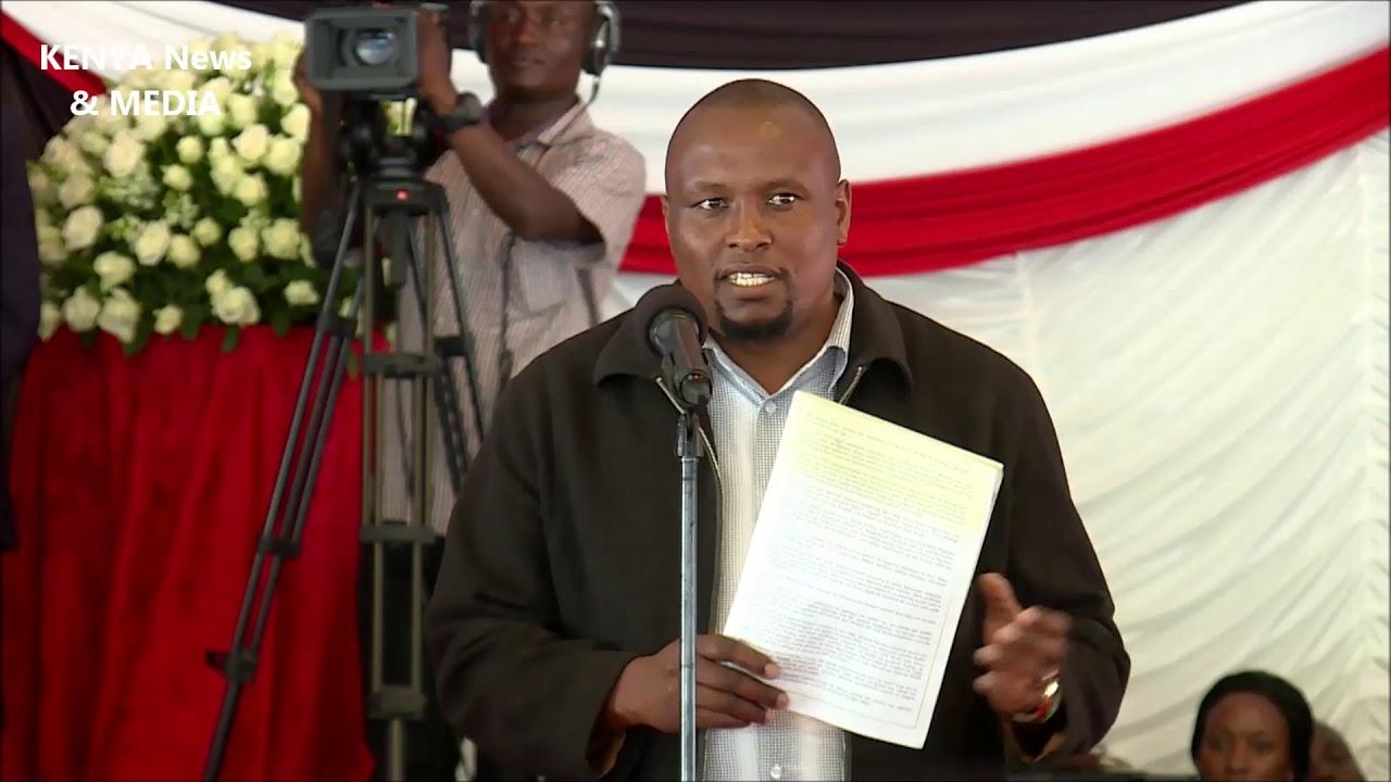 Eulogy For Joseph Kamaru Funeral Service Burial