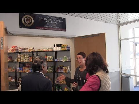 Del Tech Community College Unveils First Ever Food Pantry