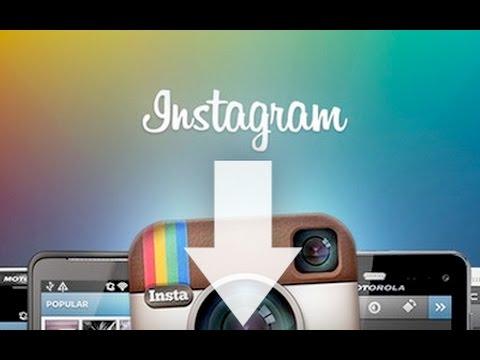 Как скачать фотографии из Instagram