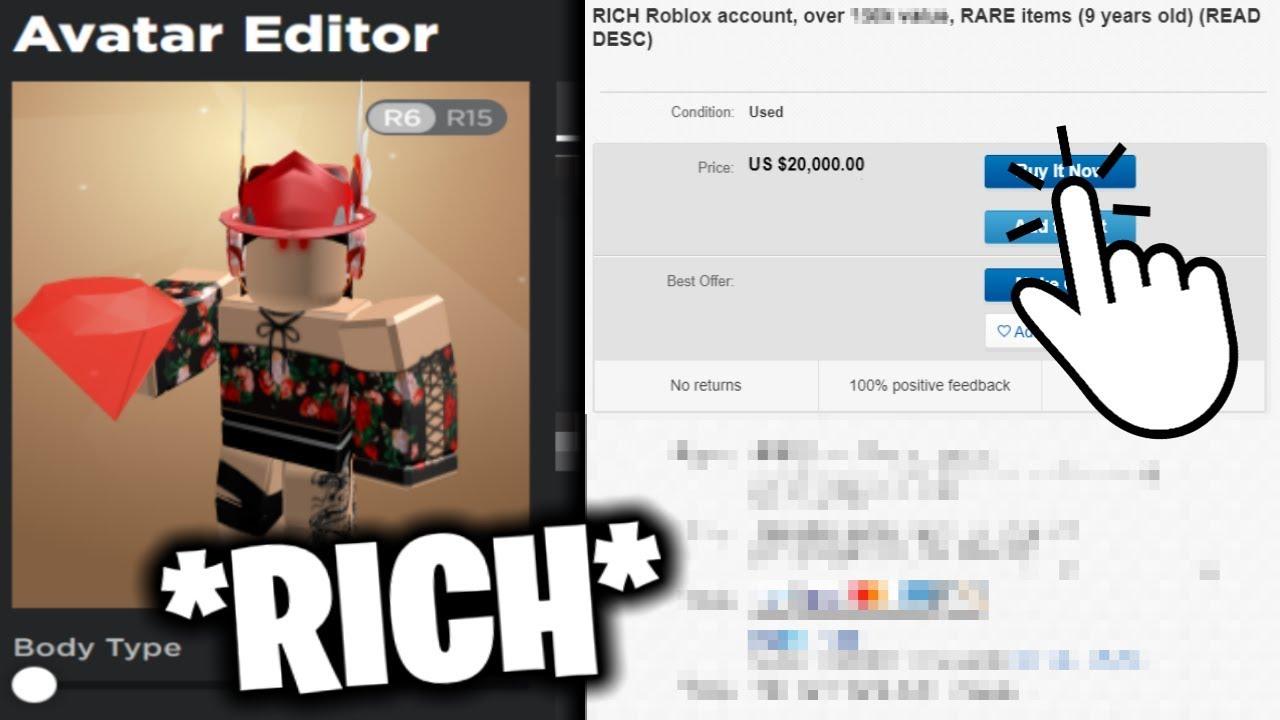 Roblox Accounts On Sale