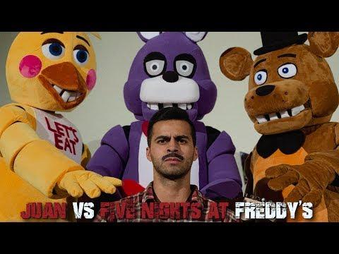 Juan vs Five Nights at Freddy's | David Lopez