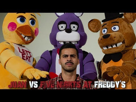 Juan vs Five Nights at Freddy's | David Lopez