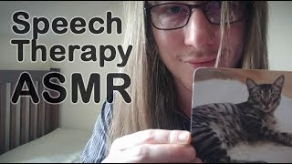 Speech Therapy ASMR (soft spoken, ear to ear vowel and consonant sounds)
